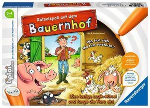 Ravensburger tiptoi Lernspiel Rätselspaß auf dem Bauernhof 00830