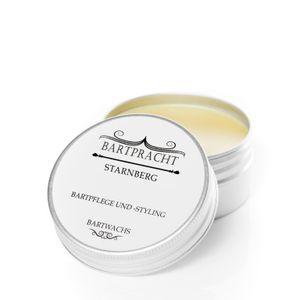 Bartpracht Bartwachs Starnberg, Bartwichse Wachs für das Bartstyling, extra starker Halt, Naturprodukt (100% natürlich),  Germany, 1 Stück