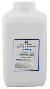 pH-Cosmetics - Basisches Badesalz Dose 2400g
