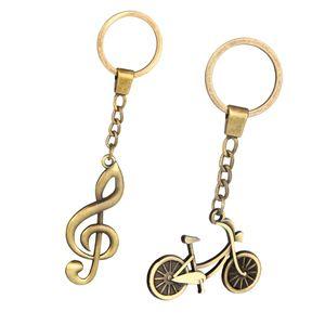 Ethnischer Fahrradschlüsselring Schlüsselbund Schlüsselring Kettenhalter Organizer für Auto / Key Finder, Taschendekor