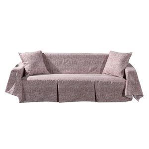 Sofabezug Pet Protector Couch Schonbezug mit 2 Kissenbezügen 2-Sitzer-Braun Farbe 2-Sitzer-Braun