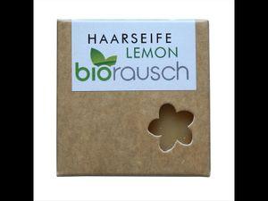 Biorausch - Haarseife Lemon 100g - für normalesHaar