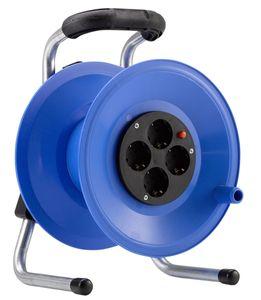 HEDI K1Y000T Kunststoff-Kabeltrommel Primus, leer, blau ****