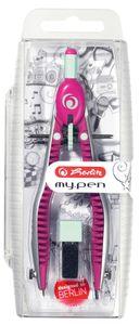 Herlitz Schnellverstellzirkel my.pen pink/minze