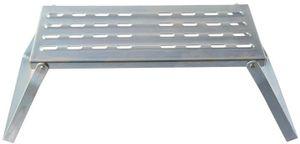 ProPlus Schritt 1 Schritt faltbarer Stahl Silber