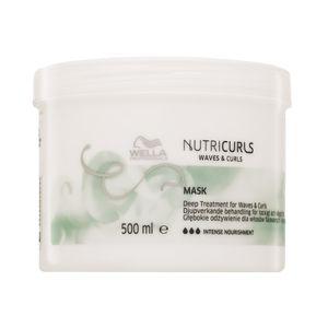 Wella Professionals Nutricurls Waves & Curls Mask pflegende Haarmaske für lockiges und krauses Haar 500 ml