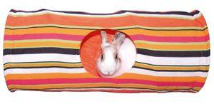 Rascheltunnel aus Nylon für Nager ø 25 x 60 cm