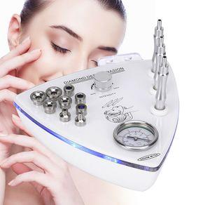 3 in1 Diamond Microdermabrasion Dermabrasion Gesichtpflege Maschine Anti Aging Gesichtspeeling Hautpflege Salon Hautverjüngung Gerät