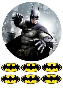 Batman Tortenaufleger,Geburtstag,Tortendeko