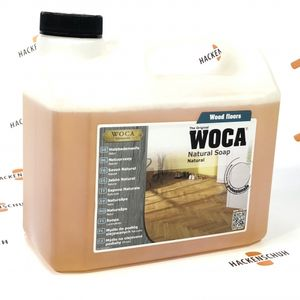 WOCA Holzbodenseife - Natural Soap - Natur - 2,5 L