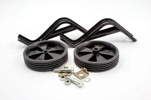 vhbw 2x Stützräder mit Drehschutz kompatibel mit 16 Zoll Kinderfahrrad