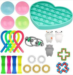 23 Stk Zappeln Sensorisches Spielzeug Fidget Toys Set Autismus ADHS SEN Stressabbau spielzeuge