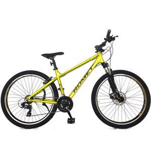 27.5 Zoll Romet Rambler R7 Mountainbike 21-Gang Kettenschaltung, Alurahmen Limette