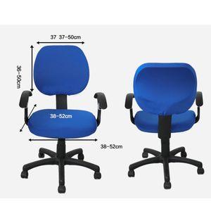 2 Sets Bürostuhl Schreibtischstuhl Drehstuhl Bezüge