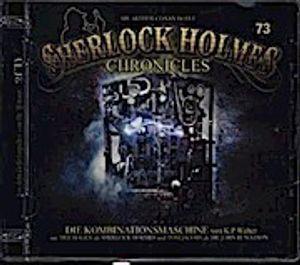 Sherlock Holmes Chronicles - Die Kombninationsmaschine, 1 Audio-CD