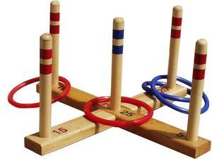 RINGE WERFEN Spiel aus Holz, Qualität  Italy