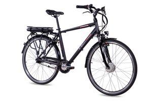 28 Zoll E-Citybike CHRISSON E-GENT 7G Shimano Nexus ANANDA schwarz matt