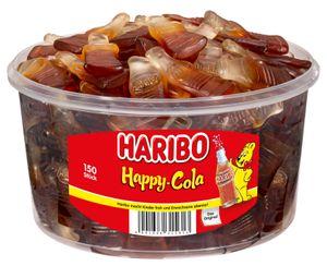Haribo Fruchtgummi - Happy Cola, 150 Stück