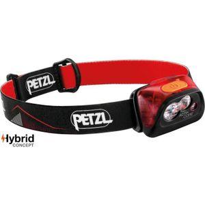 Petzl Actik Core Led 450 Lumen Stirnlampe Damen und Herren Kopflampe , Farbe:Rot