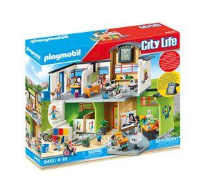 PLAYMOBIL City Life 9453 Große Schule mit Einrichtung