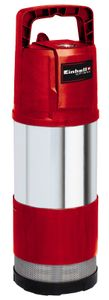 Einhell Tauchdruckpumpe GE-PP 1100 N-A, Leistung 1100 Watt, Fördermenge max. 6000 l/h, Förderhöhe max. 45 m, Automatikfunktion, Pumpengehäuse aus rostfreiem Edelstahl, 4171430