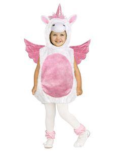 Zauberhaftes Einhorn Kostüm für Kleinkinder Größe: L 2-4 Jahre