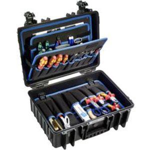 B + W Werkzeugkoffer JET 5000 aus Polypropylen schwarz Innenmaße 432 x 301 x 170 mm