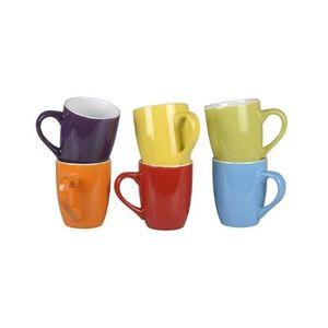 Orange85 – Kaffeetassen – bunt, 300ml, 6 Stück
