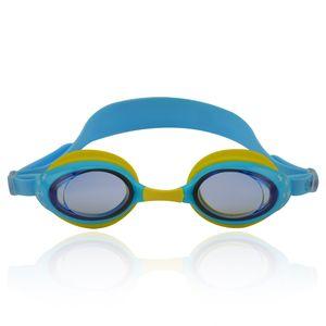 "Schwimmbrille für Kinder inkl. Transportbox ""Zippo"" AF-8700 / hellblau/gelb"