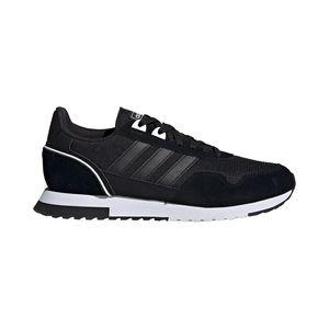 adidas Core Herren Freizeitschuh Sneaker 8K 2020 schwarz weiß , Größe:43