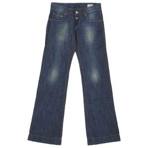 19970 Herrlicher, Judie,  Damen Jeans Hose, Denim, blue used, W 24 L 32