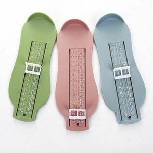 Kinder Kleinkind Kleinkind Baby Fuß Füße Messgerät Schuhe Größe Messlineal Werkzeug-Rosa