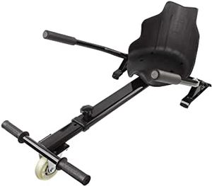 Race Hoverkart Sitz für Hoverboard Self Balance Board Sitz für Elektrokart Go Kart Hoverseat Sitz kompatibel für 6,5, 8,5 und 10 Zoll Hoverboard Alle Größen