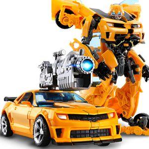 Transformers Bumblebee Roboter Kinder Transformers Bumblebee Roboter Flim Figur Auto Actionsfigur Spielzeug Neu