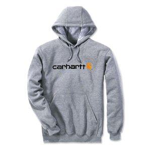 Carhartt Kapuzenshirt mit Logo, Farbe:hellgrau, Größe:XXL