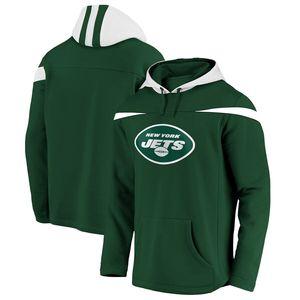 NFL New York Jets Kaputzenpullover Red Zone Sweatshirt L