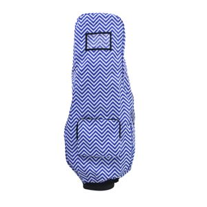 Wasserdichte Golftasche Regenschutzhülle, Regenhülle mit Kapuze für Golftasche, Golf Push Carts, Golfschlägerschutz Farbe Blau