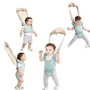 YEALEO Lauflernhilfe Gehhilfe für Baby Stehen Gehen Lernen Helfer Walker Sicherheitsleinen, 4 in 1 Funktionale Lauflerngurt für Kinder 7-24 Monate