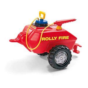 rolly toys Fire Fassanhänger rot Pompa, Maße: 75x45x43 cm; 12 296 7