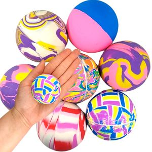 Flummi Groß Gummiball XL ca.60mm Spingball Bunt Mitgebsel Kinder