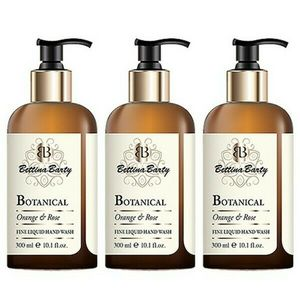 Bettina Barty Botanical Orange & Rose Fine Liquid Hand Wash, 3 x 300 ml