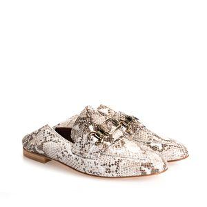 "Twinset Mokassins ""Loafers"" -  191TCP082 | Mocassino - Beige-  Größe: 37,5(EU)"