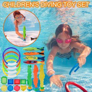 Unterwasser-Schwimmspielzeug für Tauchwasserringe Seetang-Torpedobanditen CJW210408003