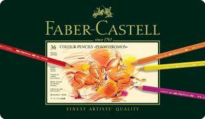 FABER-CASTELL Buntstifte POLYCHROMOS 36er Metalletui