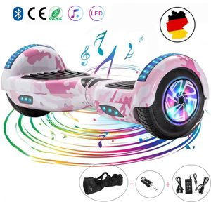Hoverboard 6.5 Hover Scooter Board Elektroroller Selbstausgleichender Roller Elektroroller