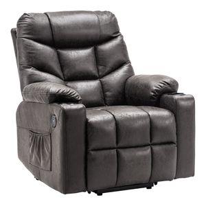MCombo Elektrische Aufstehhilfe Fernsehsessel Relaxsessel Retro Stil 7286EY
