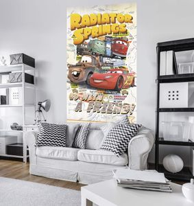 "Komar Digitaldruck Vlies Panel ""Cars Take The Open Road"" 120 x 200 cm, bunt, VD-041"
