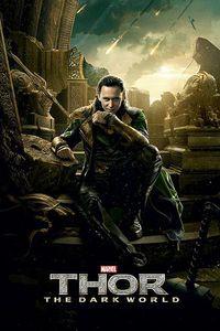 Thor 2 The Dark World Poster Loki 91,5 x 61 cm
