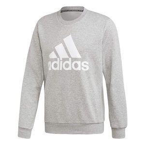 adidas MH BOS Crew Sweatshirt Herren - grau XL