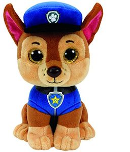 TY Beanie Boos Glubschi Paw Patrol Chase 15cm Hund Stofftier Plüschtier klein
